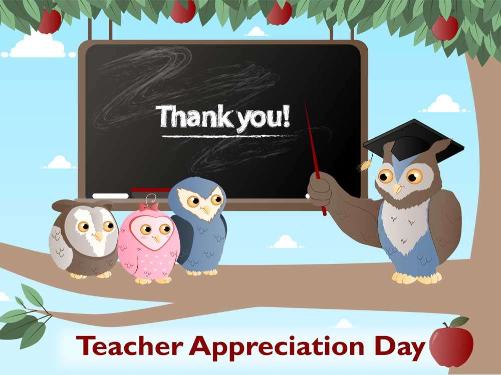 Teacher Appreciation Day 2017