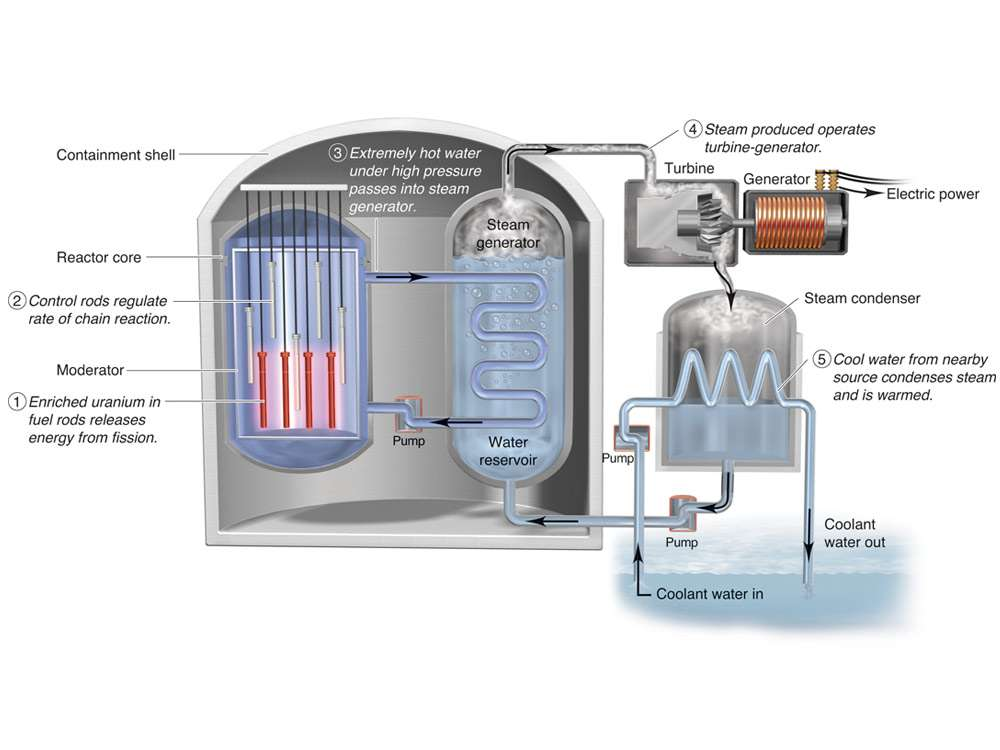 Light Water Nuclear Reactor Page Layout Design