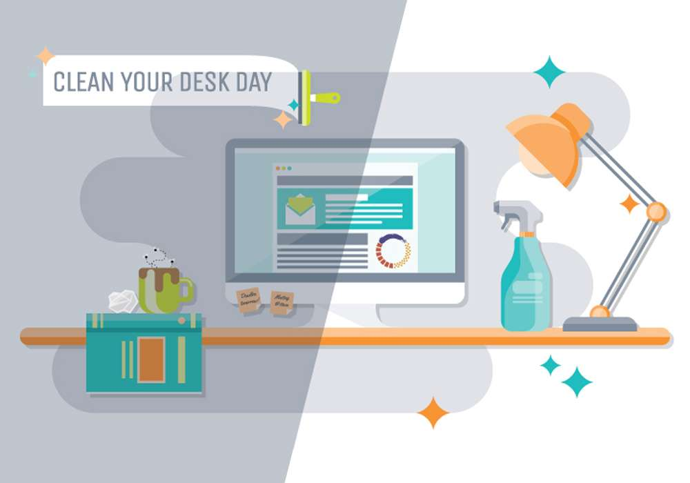 Clean Off Your Desk Day 2018