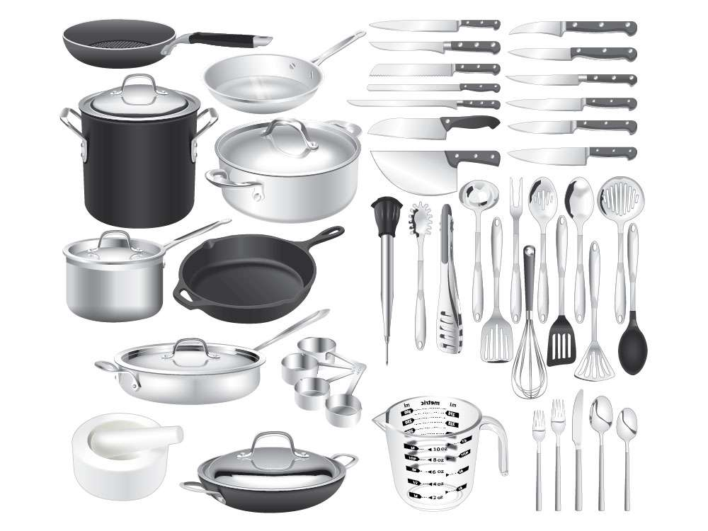 Cookware Illustration