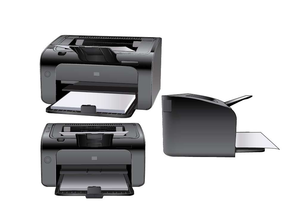 Printer Illustration