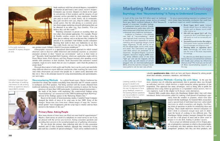 Marketing Matters Page Layout Design