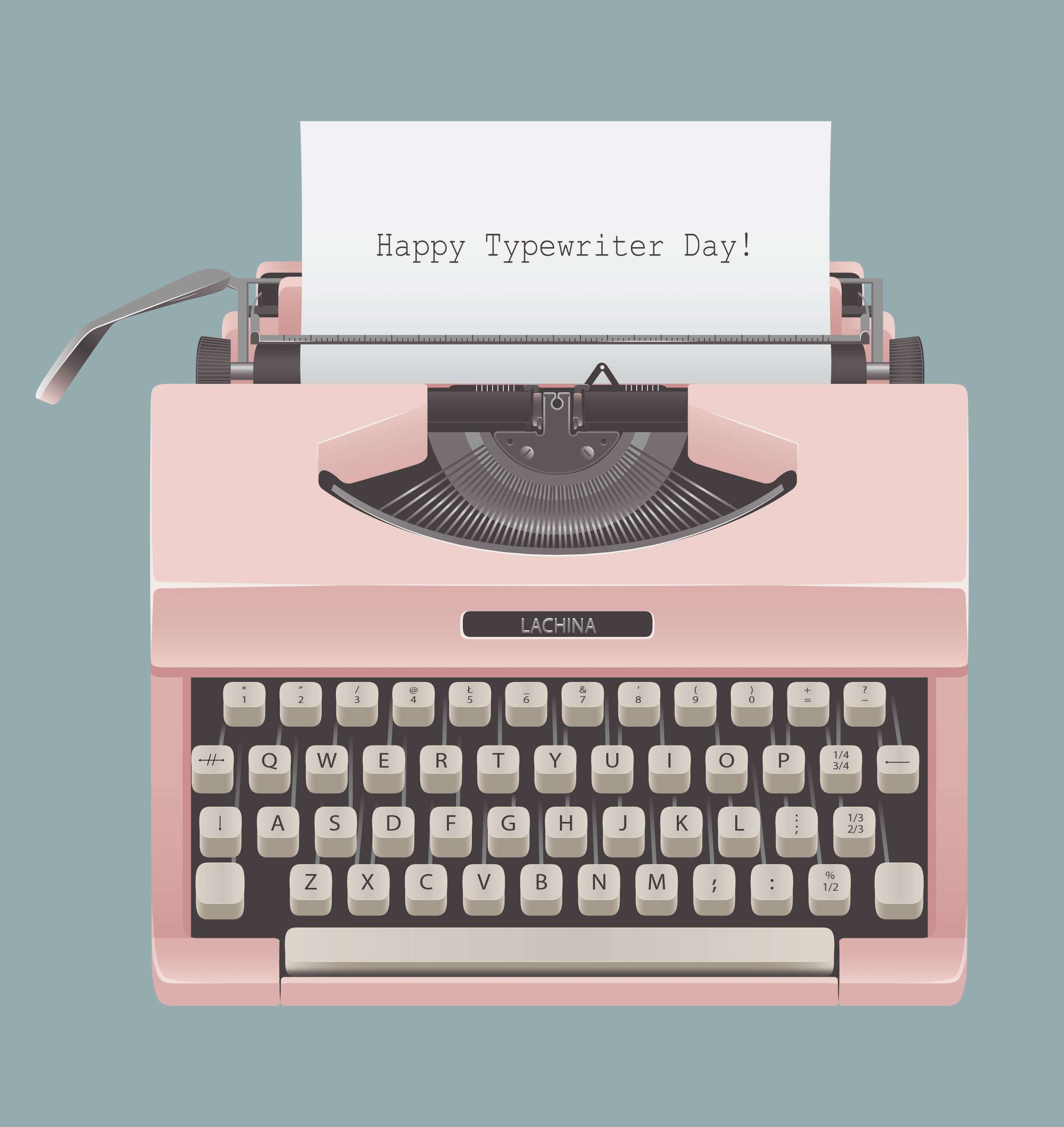 Typewriter Day